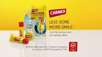 Carmex Cold Sore Treatment TV Spot, 'Voted Product of the Year' - Thumbnail 6