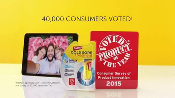 Carmex Cold Sore Treatment TV Spot, 'Voted Product of the Year' - Thumbnail 3