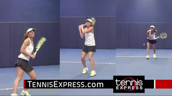 Tennis Express TV Spot, 'Tonic Tennis Gear' Featuring Martina Hingis