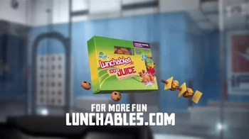 Lunchables Chicken Popper Kabobbles TV Spot, 'Indoor Skydiving' - Thumbnail 8