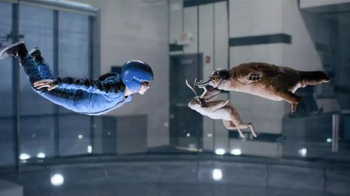 Lunchables Chicken Popper Kabobbles TV Spot, 'Indoor Skydiving' - 4782 commercial airings
