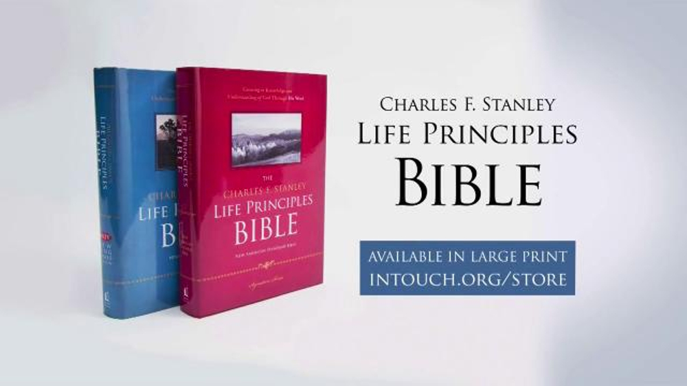 In Touch Ministries Life Principles Bible TV Commercial, '50 Years of Ministry'