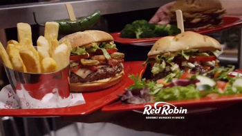 Red Robin TV Spot, 'Wave the White Napkin' - 8 commercial airings