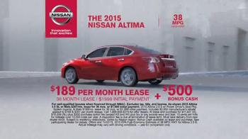 2015 Nissan Altima TV Spot, 'Wallet' - Thumbnail 6