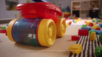 Mega Bloks Block Scooping Wagon TV Spot, 'Rolling, Scooping and Building' - Thumbnail 4