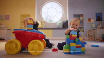 Mega Bloks Block Scooping Wagon TV Spot, 'Rolling, Scooping and Building' - Thumbnail 5