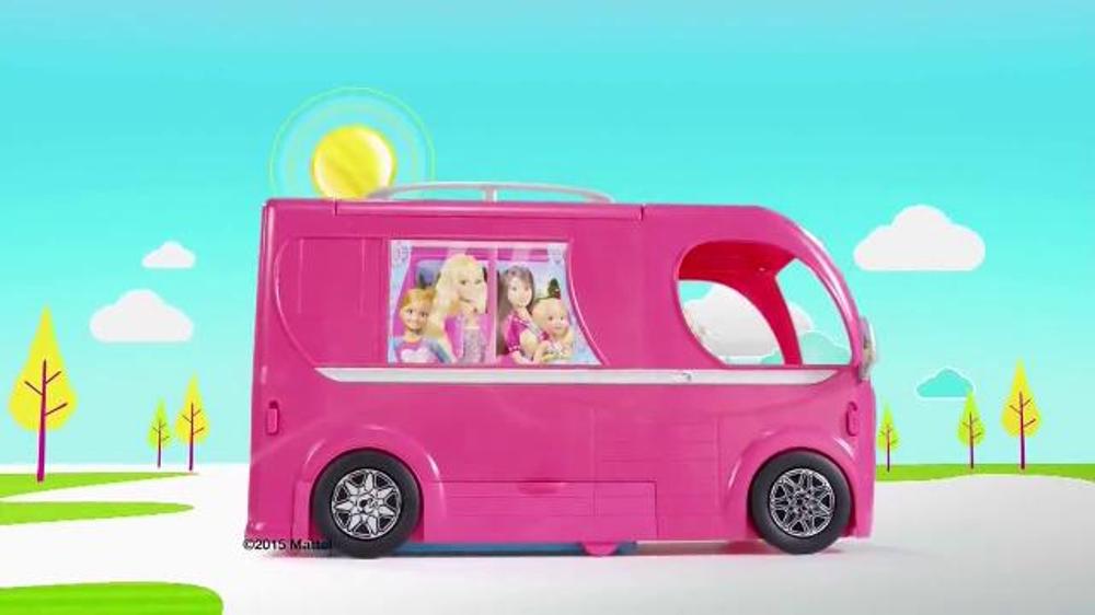 barbie pop up camper instructions