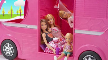 Barbie Pop-Up Camper TV Spot, 'Pop Pop Pop'