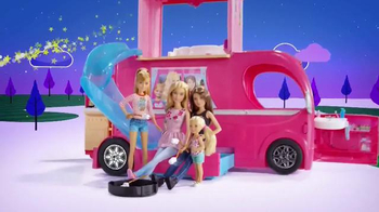 Barbie Pop-Up Camper TV Spot, 'Pop Pop Pop' - Thumbnail 7