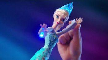 Mattel Disney Frozen Ice Magic Castle and Ice Power Elsa TV Spot, 'Glow'