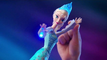 Mattel Disney Frozen Ice Magic Castle and Ice Power Elsa TV Spot, 'Glow'