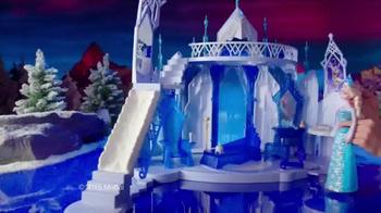 Mattel Disney Frozen Ice Magic Castle and Ice Power Elsa TV Spot, 'Glow' - Thumbnail 4