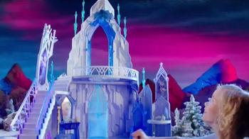 Mattel Disney Frozen Ice Magic Castle and Ice Power Elsa TV Spot, 'Glow' - Thumbnail 7