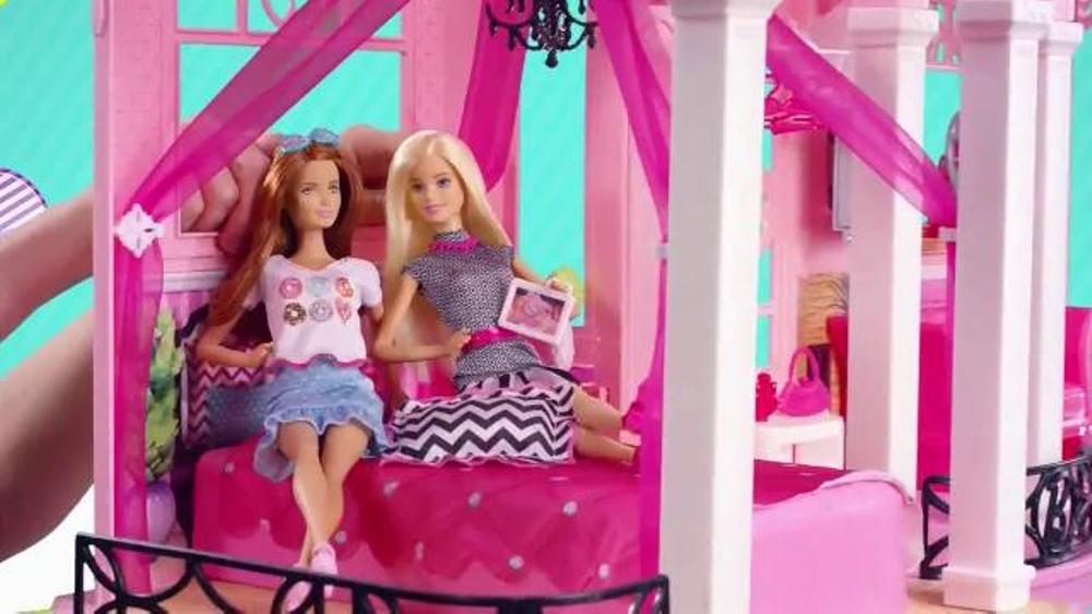 Barbie Dreamhouse Tv Commercial Slumber Party Video