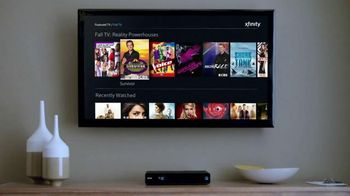 XFINITY On Demand TV Spot, 'Fall TV Reality Shows' - 35 commercial airings