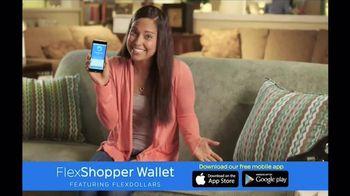 FlexShopper Wallet App TV Spot, 'FlexDollars'