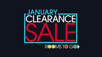 Rooms to Go January Clearance Sale TV Spot, 'Dining Sets' - Thumbnail 1