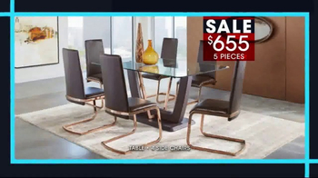 Rooms to Go January Clearance Sale TV Spot, 'Dining Sets' - Thumbnail 3