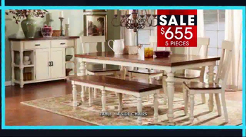 Rooms to Go January Clearance Sale TV Spot, 'Dining Sets' - Thumbnail 4