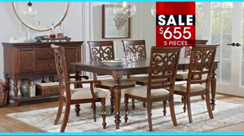 Rooms to Go January Clearance Sale TV Spot, 'Dining Sets' - Thumbnail 5
