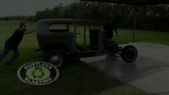 Dustless Blasting TV Spot, 'Strip a Car' - Thumbnail 1