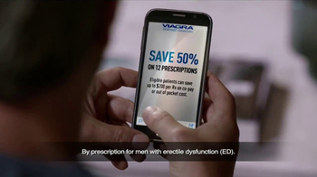 Viagra TV Spot, 'Save 50 Percent' - Thumbnail 1
