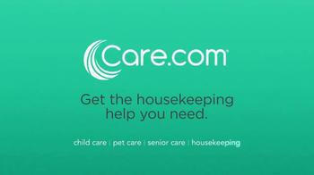 Care.com TV Spot, 'Kids Come Clean' - Thumbnail 9