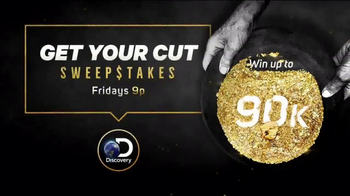 Discovery Channel TV Spot, 'Get Your Cut Sweepstakes' - Thumbnail 7