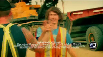 Discovery Channel TV Spot, 'Get Your Cut Sweepstakes' - Thumbnail 5