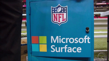 Microsoft Surface TV Spot, 'NFL Sidelines: Seahawks vs. 49ers' - Thumbnail 1