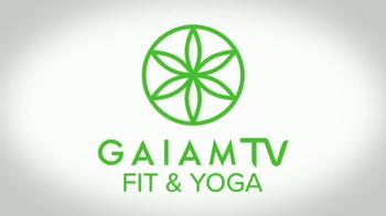 Gaiam TV Fit & Yoga TV Spot, 'Fuel Your Soul' - Thumbnail 1