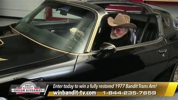 Bandit Dream Giveaway TV Spot, '1977 Bandit Trans Am' Feat. Burt Reynolds - Thumbnail 3