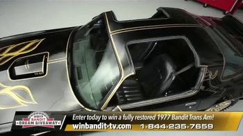 Bandit Dream Giveaway TV Spot, '1977 Bandit Trans Am' Feat. Burt Reynolds - Thumbnail 4