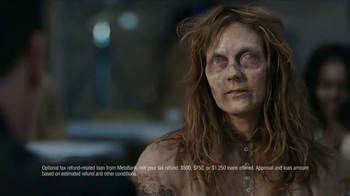 H&R Block TV Spot, 'Zombie' Featuring Jon Hamm - Thumbnail 2