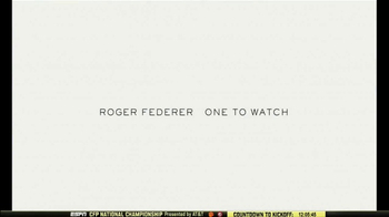 Rolex TV Spot, 'Australian Open 2017: Roger Federer Is the One to Watch' - Thumbnail 8