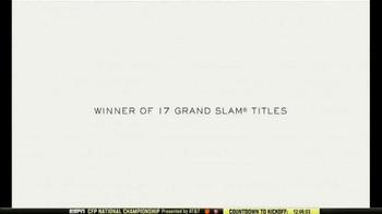 Rolex TV Spot, 'Australian Open 2017: Roger Federer Is the One to Watch' - Thumbnail 3