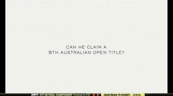 Rolex TV Spot, 'Australian Open 2017: Roger Federer Is the One to Watch' - Thumbnail 6