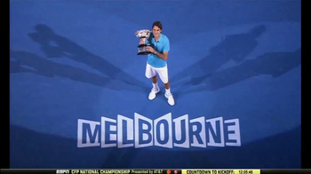 Rolex TV Spot, 'Australian Open 2017: Roger Federer Is the One to Watch' - 9 commercial airings