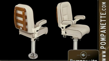 Pompanette TV Spot, 'Luxury Seating for Boaters' - Thumbnail 3