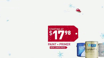 Lowe's Winter Savings Event TV Spot, 'Paints and Tile' - Thumbnail 4