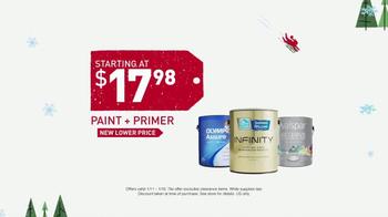 Lowe's Winter Savings Event TV Spot, 'Paints and Tile' - Thumbnail 5