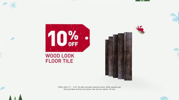 Lowe's Winter Savings Event TV Spot, 'Paints and Tile' - Thumbnail 7