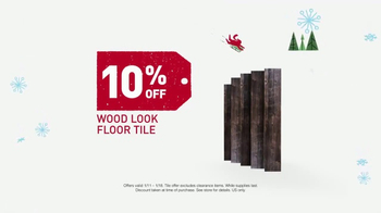 Lowe's Winter Savings Event TV Spot, 'Paints and Tile' - Thumbnail 8