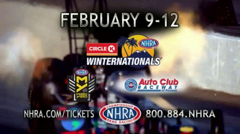 NHRA TV Spot, '2017 Circle K Winternationals' - Thumbnail 3