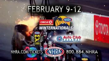 NHRA TV Spot, '2017 Circle K Winternationals' - Thumbnail 4