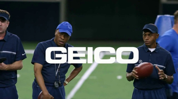 GEICO TV Spot, 'Tryouts' Featuring Jason Witten - Thumbnail 9