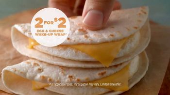 Dunkin' Donuts Egg & Cheese Wake-Up Wrap TV Spot, 'Go Time'