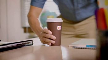 Dunkin' Donuts Egg & Cheese Wake-Up Wrap TV Spot, 'Go Time' - Thumbnail 1