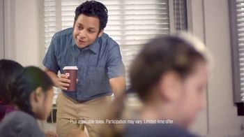 Dunkin' Donuts Egg & Cheese Wake-Up Wrap TV Spot, 'Go Time' - Thumbnail 7