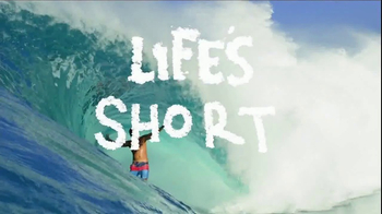 Billabong TV Spot, 'Life's Short' Song by Tomorrow's Tulip - Thumbnail 8
